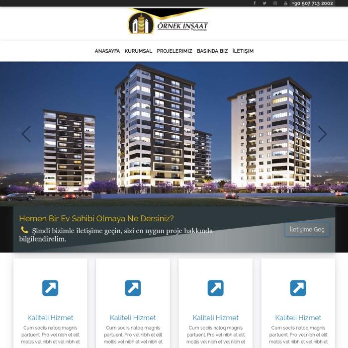hazır inşaat web sitesi